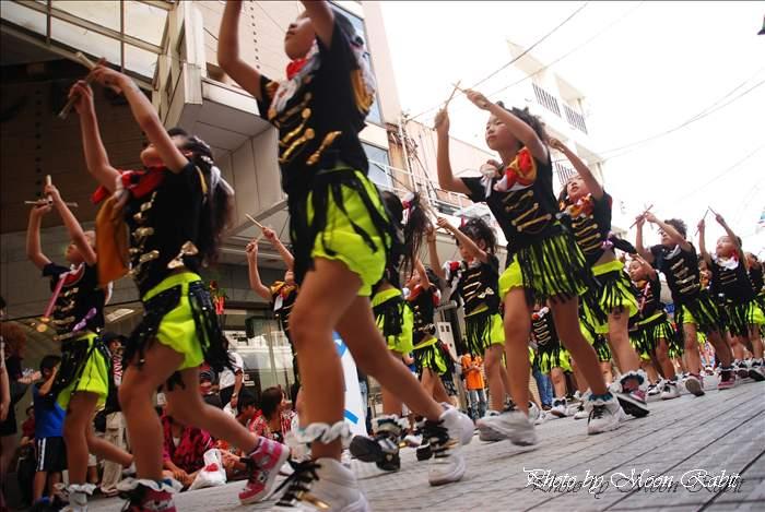 Do-c. Dance Kid's おんまく ダンスバリサイ 広小路・今治商店街 愛媛県今治市 2010年8月7日