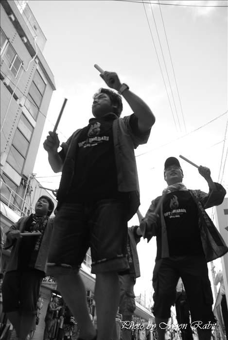 今治JC連 おんまく ダンスバリサイ 広小路・今治商店街 愛媛県今治市 2010年8月7日