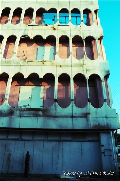 大屋デパートの解体工事 愛媛県西条市紺屋町 2011年7月23日