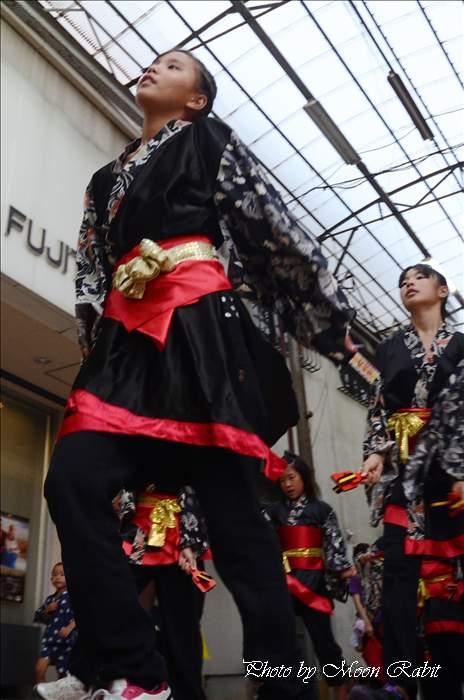 西条市 夜市 Go! Go! Jam Dance Club 西条市商店街 愛媛県西条市 2011年7月23日