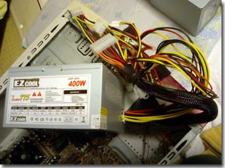 新しい電源ユニットJSP-400
