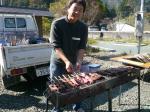 赤牛の串焼き