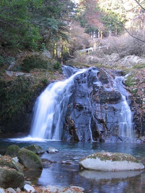 花貫不動滝2007120702