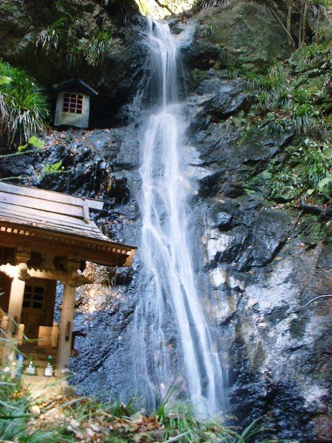 河鹿沢の滝2004120403