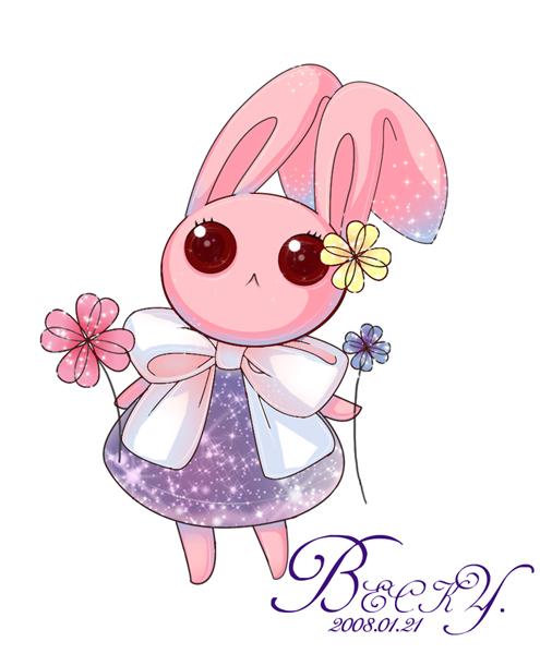 帮别人画的兔子