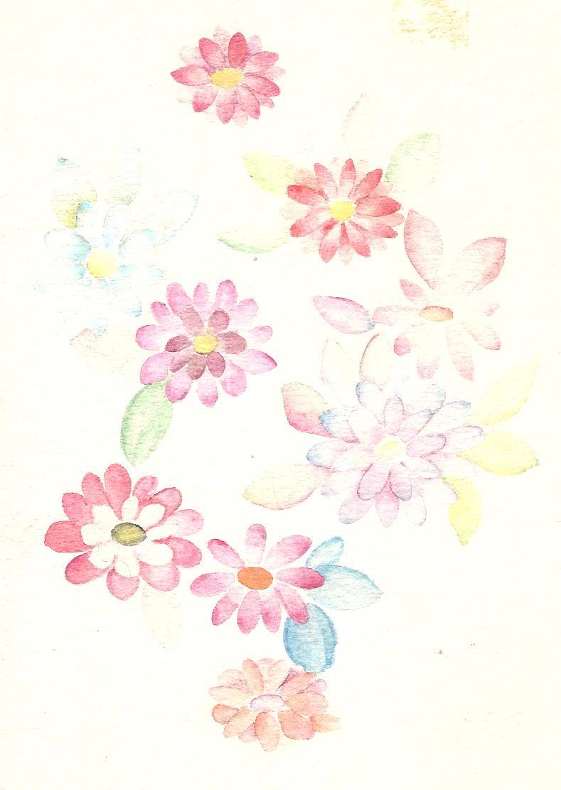 花のハガキ