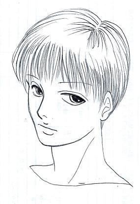 短髪の男2