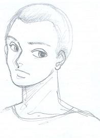 短髪すぎる男2