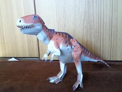恐竜クラフト