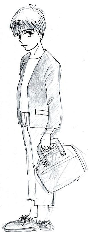 電車で見た少年2