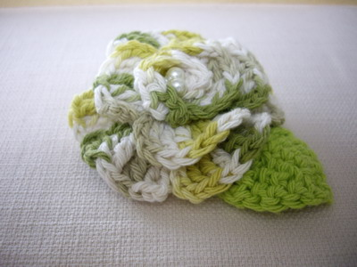 knit corsage