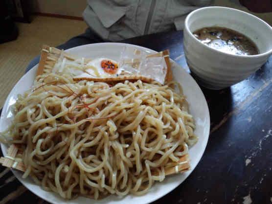 雷電魚介風つけ麺大盛り110626a