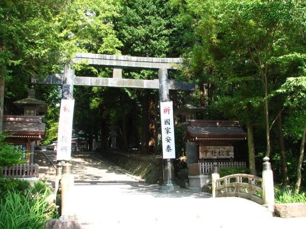 1554諏訪大社秋宮鳥居110816