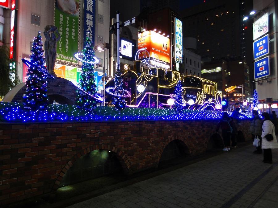 新橋イルミネーション01