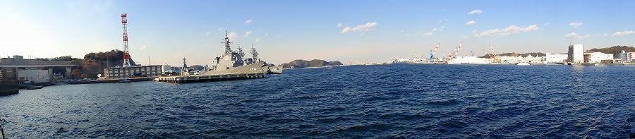 横須賀港パノラマ