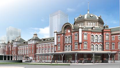 東京駅リニューアル