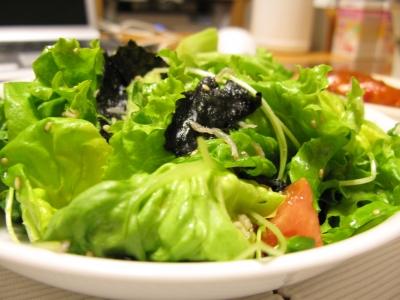 こうちゃんのブログに載ってたサラダを相方が再現( ゚Д゚)ウマー