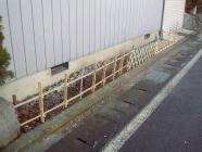 フェンス作るH200108
