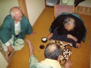 笊碁の会早朝から碁打ちH200124