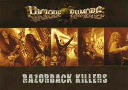 Razorback Killers Postcard