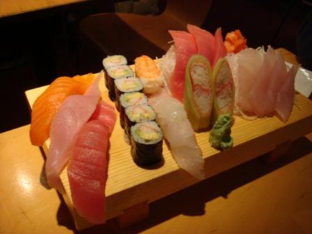 sushi in NY