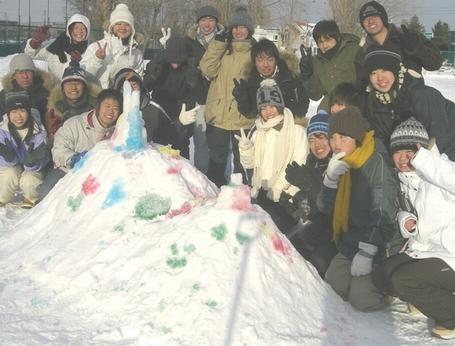 集合写真inプレ雪まつり