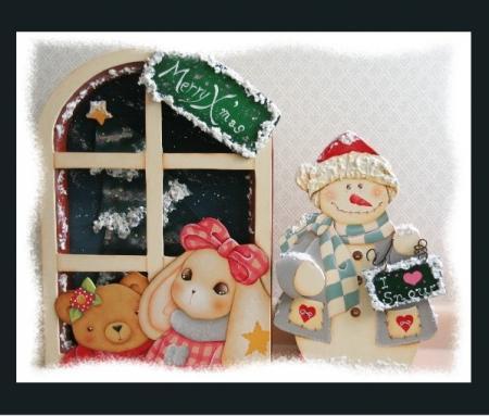 トールペイント クリスマス