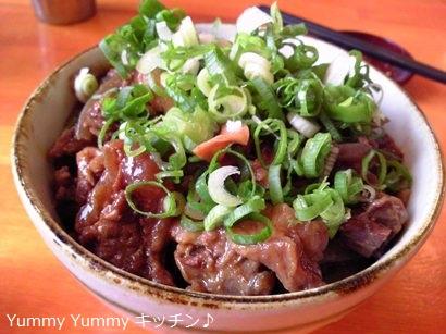 京都のラーメン屋さん どて焼き丼ぶり ブログ用