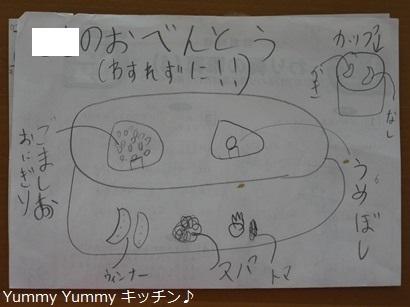 娘運動会お弁当企画書(笑)