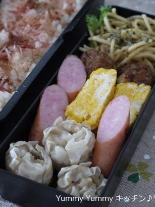 息子弁当20111104-2
