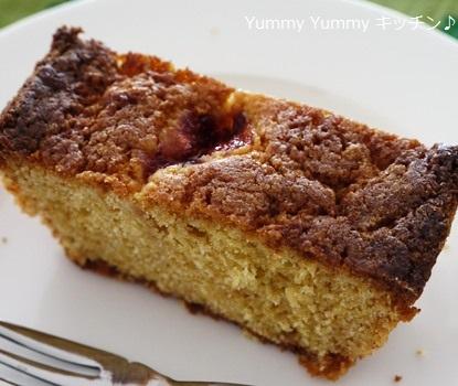 イチゴジャムのパウンドケーキ☆