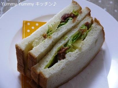焼き鳥パインサンドイッチ♪