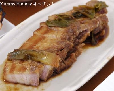 豚バラ生姜醤油煮♪