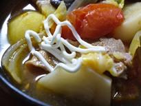 ボルシチ風鍋 サワークリーム