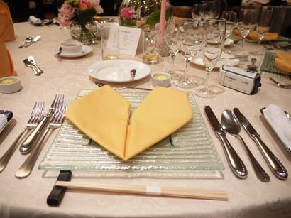 弟結婚式テーブルコーデ