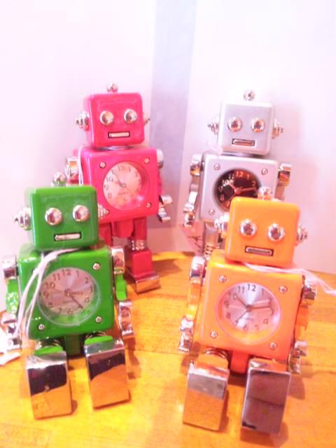 ロボット時計