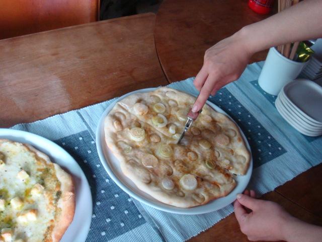 ボタンピザ