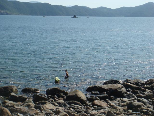 海を独り占め