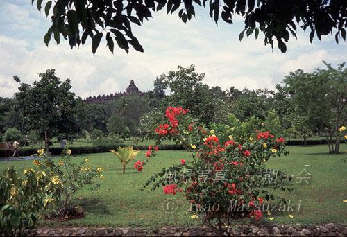 ボロブドール遺跡公園