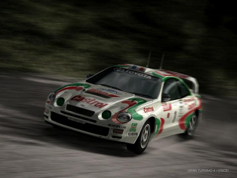 トヨタ セリカ GT-FOUR ラリーカー(ST205) '95