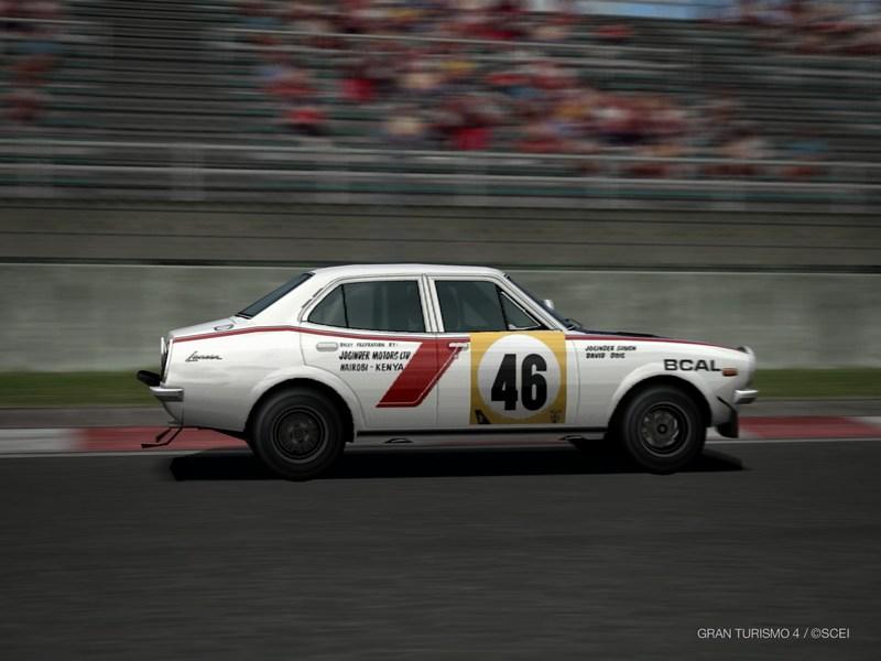 三菱 ランサー 1600 GSR ラリーカー '74