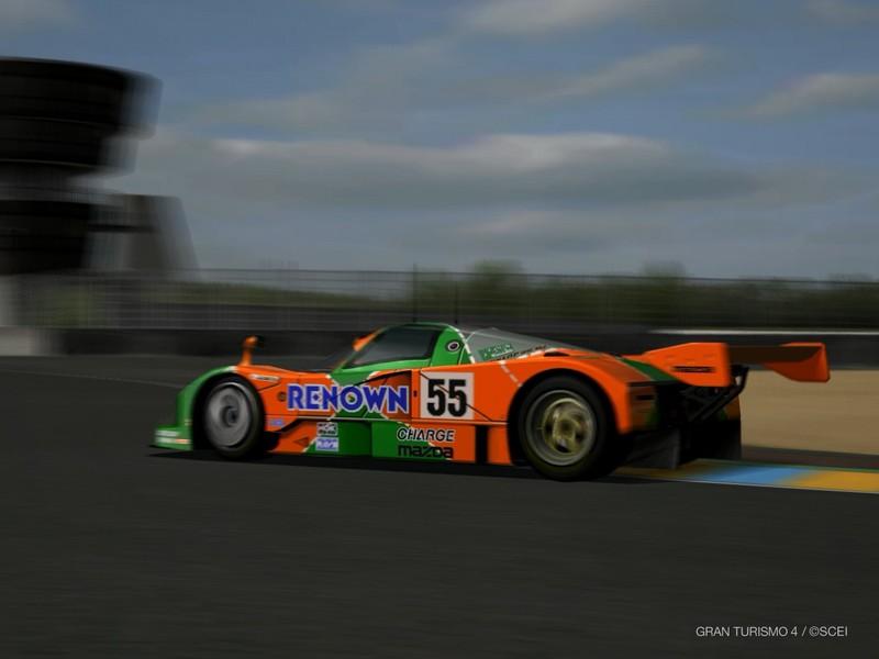 マツダ 787B レースカー '91