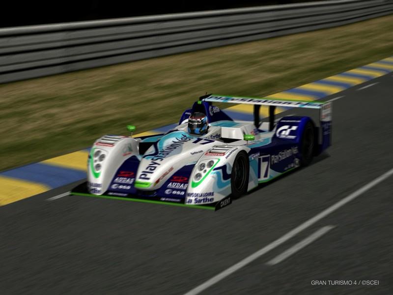 プレイステーション ペスカローロ C60 LMP ジャッド レースカー '04