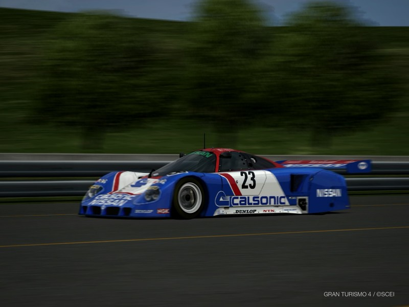 日産 R89C レースカー '89