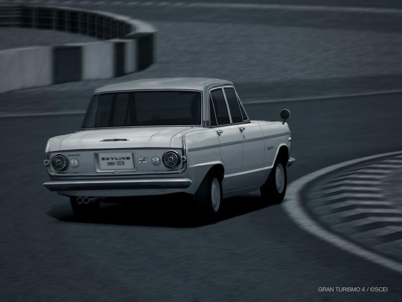 ニッサン プリンス スカイライン 2000GT-B '67