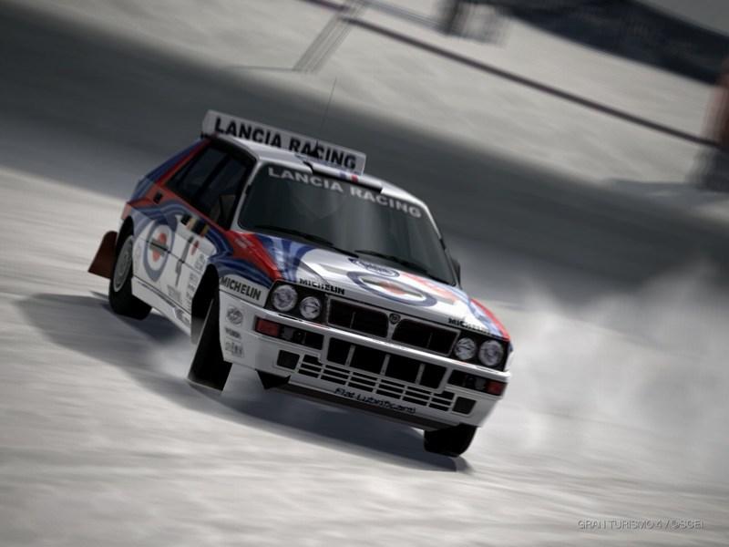 ランチア デルタ HF インテグラーレ ラリーカー '92