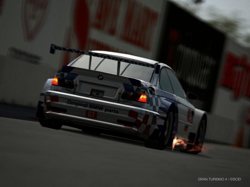 BMW M3 GTR レースカー '01