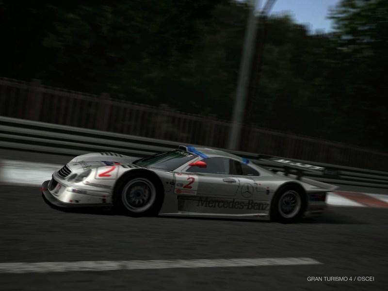 AMG メルセデス CLK-GTR レースカー '98