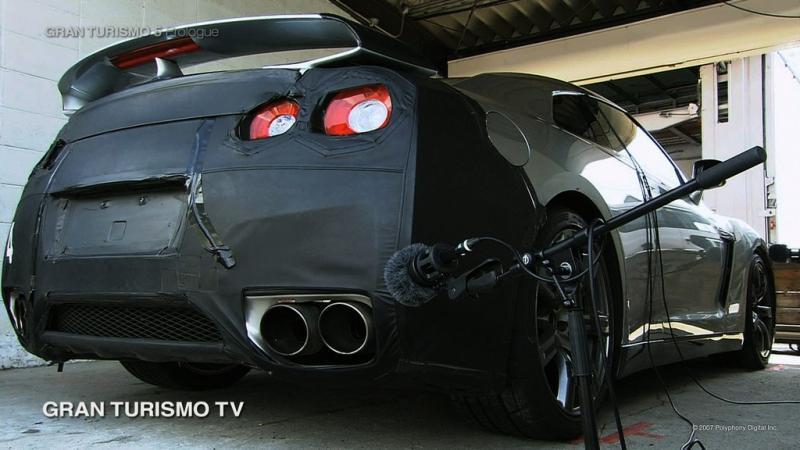 GT-R 排気音収録風景