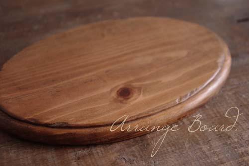 ハンドメイドアレンジ素材*木製プレート